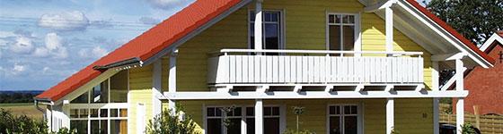 Übersicht Holzhäuser